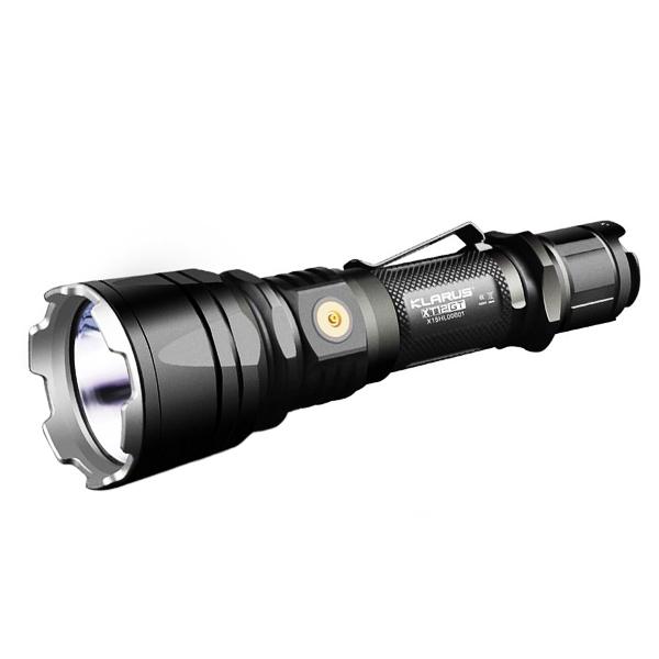 Rechargeable Klarus Lampe 1600 Xt12gt Tactique Led Lumens j4L5RA