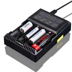 Chargeur de batteries Li-ion, LiFePO4 Klarus CH4S
