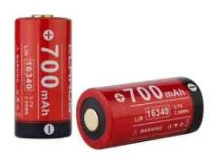 Batterie Klarus 16340 Li-ion 700mAh