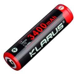 Batterie Klarus 18650 Li-ion 3400mAh